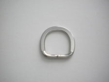 """1"""" Inch Flat Style D-ring Short Style - Product Image"""