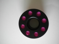 "100ft Finger Spool PINK Line ""Large Center Hole"" - Product Image"