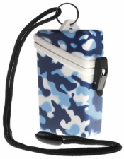 Camo Keep It Safe Case BLUE - Product Image