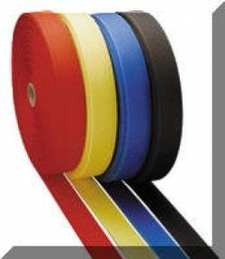 "2 Inch Nylon Webbing  BLACK ""Stiffer Webbing"" - Product Image"