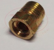 1/4 NPT male to 3/8-24 female BRASS Fitting - Product Image