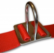 Drop D' Ring for Shoulder Straps 90 Degree - Product Image