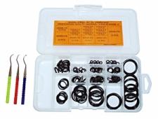 140 Piece Viton O' Ring Kit w/picks - Product Image