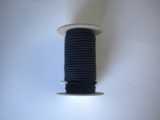 "1/8"" Bungee Shock Cord ""BLACK 50ft Mini Spools!"" Commercial Grade! - Product Image"