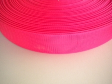 2 Inch Nylon Webbing  Neon Pink - Product Image