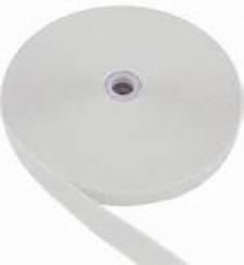 2 Inch Nylon Webbing  WHITE - Product Image