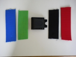 2 Inch Weight Belt w/Plastic BLACK Buckle - Product Image