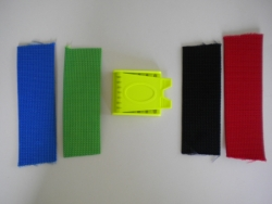2 Inch Weight Belt w/Plastic YELLOW Buckle - Product Image
