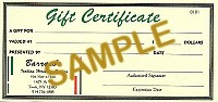 $100.00 Gift Certificate - Product Image