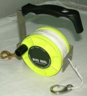 "290' Tec Reel ""Yellow"" - Product Image"