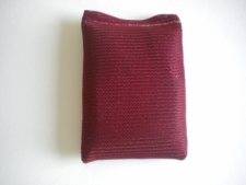 """3 Pound Soft Dive Weight  """"Burgungy Outer Bag Color"""" - Product Image"""