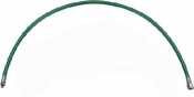 "32"" HP Double Braided Kevlar Wrapped Hose GREEN - Product Image"