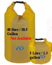 "5 Liter / 1.3 gallon Drybag ""Yellow"" - Product Image"