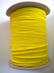 """5/32"""" Bungee Shock Cord """"Safety YELLOW"""" - Product Image"""