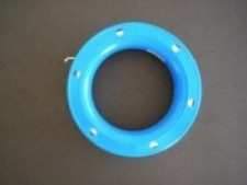6 Inch hand spool BLUE 150ft - Product Image