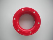 6 Inch hand spool RED 150ft - Product Image