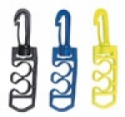 BC Hose Clips YELLOW - Product Image