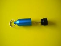 """Aluminum Tank w/pick & Split Ring  """"BLUE"""" - Product Image"""