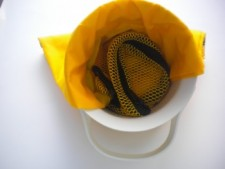 """Deluxe Lobster Bag """"Yellow"""" - Product Image"""