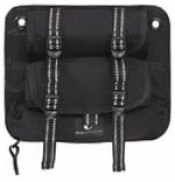 Dual Holder Butt Pouch with zippered pocket on bottom! - Product Image