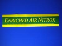 EAN Nitrox MEDIUM Size Sticker - Product Image