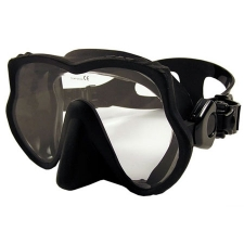 "Explorer II Frameless Mask   ""Black Frame w/Black Skirt"" - Product Image"