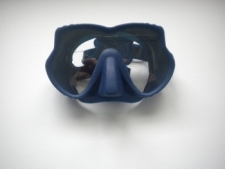 "Explorer II Frameless Mask   "" Blue Frame w/ Blue Color Skirt"" - Product Image"