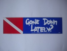 Gone Down Lately Decal - Product Image