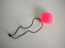 "Hard Valve Protector Cap  ""PINK"" - Product Image"