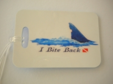 "I Bite Back Luggage Tag   ""One Tag Price"" - Product Image"