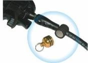 """Magnetic Hose Holder """"Gold/Black"""" - Product Image"""