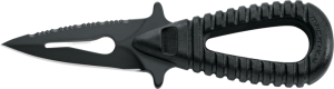 """Microsub Race 2 Pointed Tip w/ Hard Plastic Sheath """"Black Handle"""" ***1 ONLY***  - Product Image"""