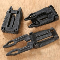 """Molle Connecting Clip """"Black"""" - Product Image"""