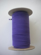 "NEW! 1/8"" Bungee Shock Cord ""Purple"" 50ft Mini Spool  Commercial Grade - Product Image"