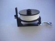 "NEW! Piranha Sidewinder Reel 200ft  ""White Line"" - Product Image"