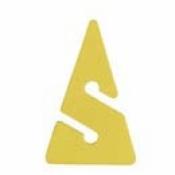 Neon Yellow Line Arrow - Product Image