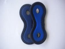 Neoprene Snorkel Keeps Blue/Navy Blue Color - Product Image
