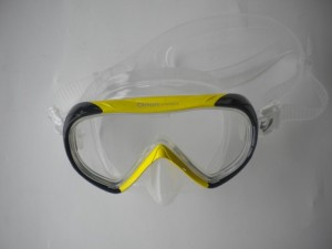 "Orion Pro Dive Mask ""Yellow w/Black Trim & Clear Skirt ***1 Only!*** - Product Image"