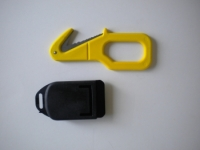 """Piranha Extreme Line Cutter """"Yellow""""  W/ Shealth - Product Image"""