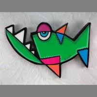 Piranha Wall Art - Product Image