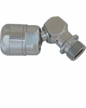 "Right Angle Swivel Adapter for 2nd Stages ""Low Pressure Applications"" - Product Image"