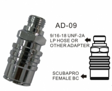 Scubapro Air 2 / Zeagle Adapter  - Product Image