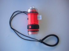 Strobe w/ flashlight Orange Body - Product Image