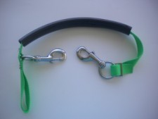 "Tec Stage Strap "" Green Webbing w/SS Hardware"" - Product Image"