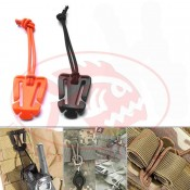 "Webdom Web Dominator Molle Clip ""Burnt Orange"" - Product Image"