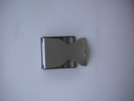 Whale Tail Stainless Steel Buckle - Product Image