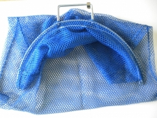 Wired Handle Mesh Bag  Large      BLUE Mesh - Product Image