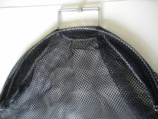 Wired Handle Mesh Bag  Med/Large      BLACK Mesh - Product Image