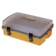 Wirtz Sport Case 1 w/ Clear Top Lid with Yellow Lower Body - Product Image
