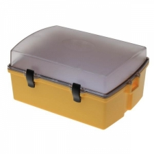 Wirtz Sport Case 2 w/ Clear Top Lid with Yellow Lower Body - Product Image